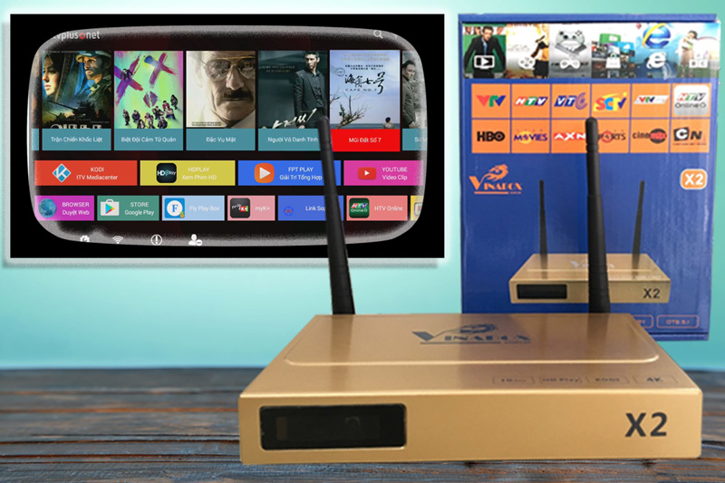 ANDROID BOX MXQ S802
